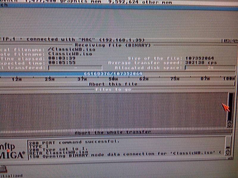 USB ethernet speed test ( AmigaOs3 9 ) | AMIGAX